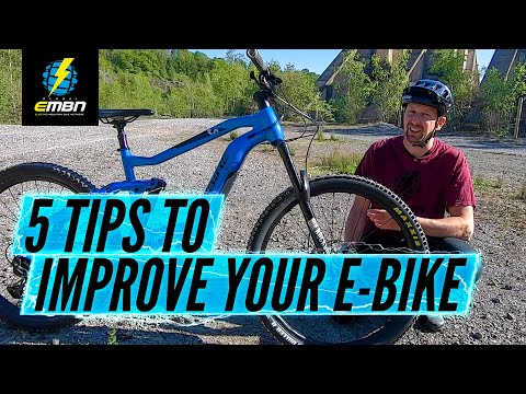 5 Tips To Improve Your E-Bike For Low Or No Cost