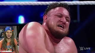 WWE Smackdown 10/9/18  Samoa Joe vs Jeff Hardy