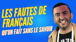 Top 8 des fautes de français qu'on fait sans le savoir
