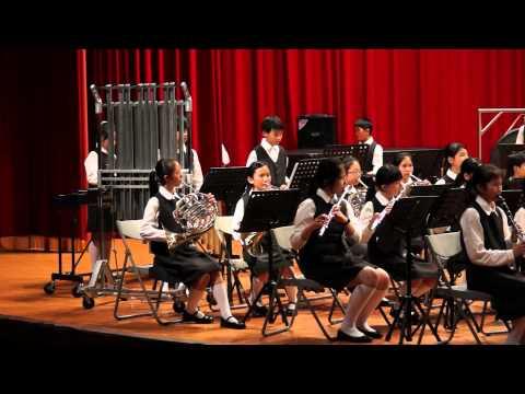 20140525桃園縣興國國小管樂發表會,於中壢高中松風館演奏。