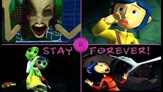 Coraline Game Over   Fail Cutscenes   Deaths (PS2, Wii)