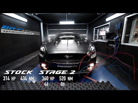Ford Mustang 2.3T Ecoboost Stage 2 By BR-Performance
