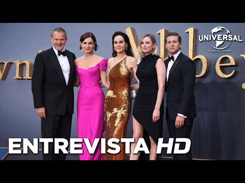 DOWNTON ABBEY - Entrevistas al reparto