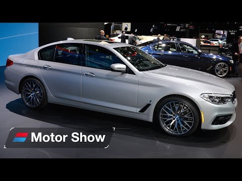 2017 BMW 5 series 530e plug in hybrid – First Look at the Detroit Motor Show