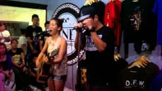 Upuan by Gloc-9 feat. Lirah Bermudez Live at INE, Katipunan