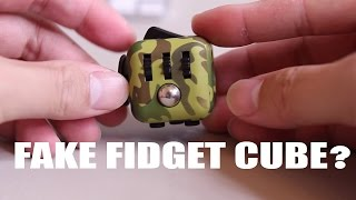 Fake Fidget Cube Review