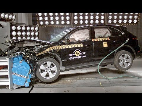 Porsche Cayenne (2018) CRASH TEST