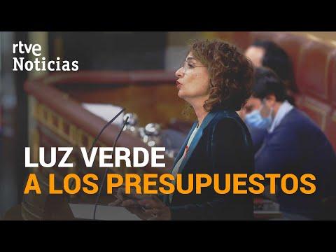 Amplio APOYO del CONGRESO a los primeros PRESUPUESTOS del gobierno de COALICIÓN | RTVE Noticias