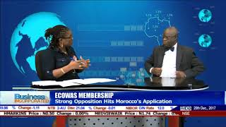 ECOWAS: Morocco's Request Is A Move To Take West Africa For A Ride - Expert |Business Incorporated|