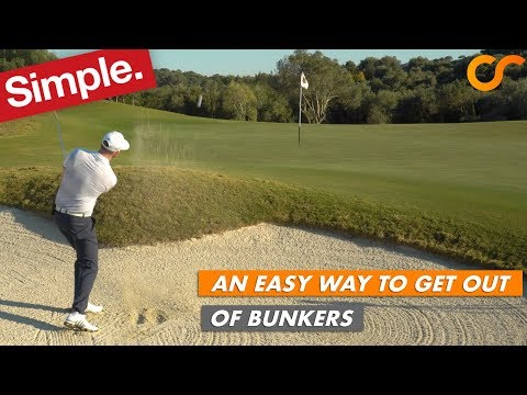 AN EASY WAY TO GET OUT OF BUNKERS