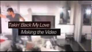 Enrique-Takin' Back My Love  Behind The Scenes