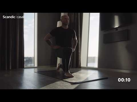 Scandic Hotels: Warm Up Workout