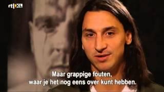 Zlatan talks about Ajax, meets Andy van der Meyde (2012)