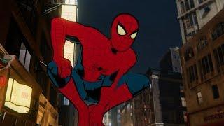 Spider-Man Chases Shocker (Vintage Spider Suit Walkthrough) - Marvel's Spider-Man