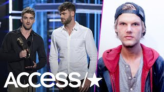 The Chainsmokers Dedicate Their 2018 Billboard Music Award To The Late Avicii | Access