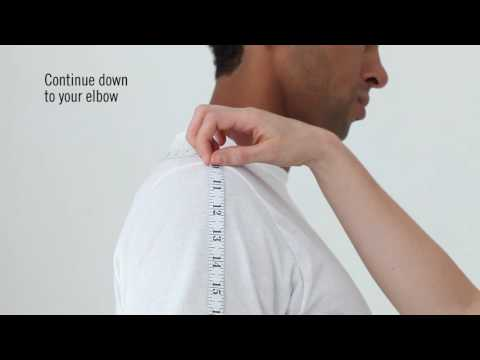 How To: Measure Your Sleeve Length