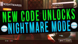Call Of Duty Black Ops 3 - New Menu Code That Unlocks Nightmare Mode