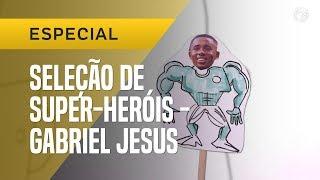 SELEÇÃO DE SUPER-HERÓIS #1: GABRIEL JESUS, O PINTOR QUE HERDOU A 9
