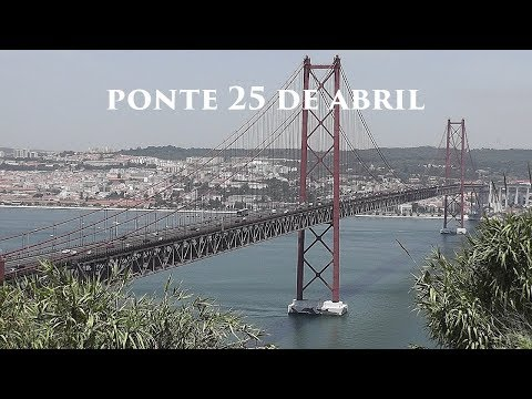 LISBOA: 25 de Abril Bridge (Portugal) HD