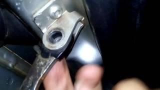Resolvendo aquele barulho chato da porta do carro quando está abrindo