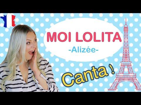 Aprende FRANCÉS CANTANDO 🎶🇫🇷 MOI LOLITA -Alizée-