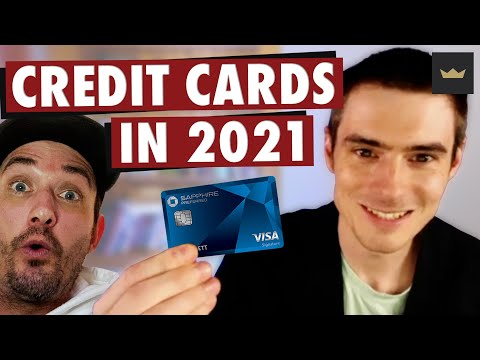 BEST Credit Cards in 2021 + How To Climb The Credit Card Ladder! photo