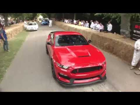 Ford Mustang GT350R at Goodwood Festival of Speed 2015