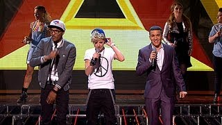 The Finalists sing Gotye's Somebody I Used To Know - Live Week 2 - The X Factor UK 2012