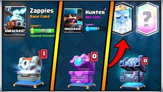CLASH ROYALE UPDATE | LEGENDARY KINGS CHEST OPENING | NEW ROYAL GHOST LEGENDARY CARD!