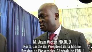 Interview de M. Jean Victor NKOLO
