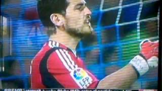 Iker Casillas Screams at Guti