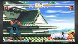 [HD] SF3 3rd Strike Online Edition: Fight for the Future Ken vs Ryu (Redwolfx)