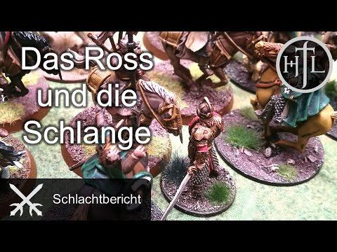 Battlereport - DRdK #6 - Das Ross und die Schlange (Mittelerde / Hobbit / Herr der Ringe)