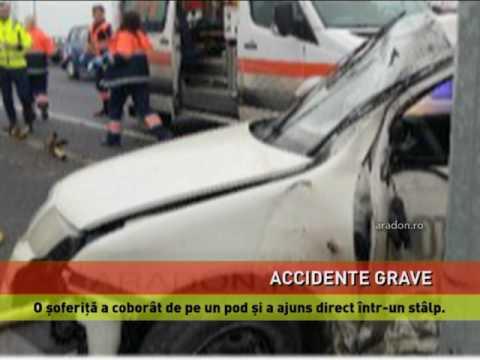 Accidente grave pe șoselele României
