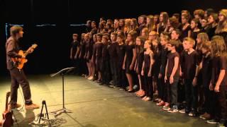 """""""Les bords de mer"""" Julien Doré / chorale du Collège REVERDY (Sablé sur Sarthe - Marc Leroy)"""