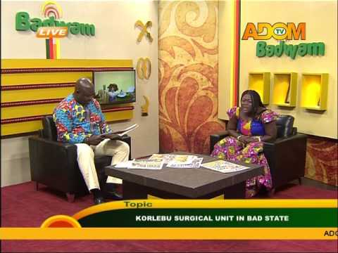 Korle-BU surgical unit in bad state - Asem kesee on Adom TV (9-2-16)