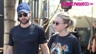 Chace Crawford From Gossip Girl Has Lunch With His Girlfriend At Zinque Cafe 3.8.17