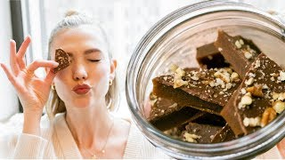 How to Make My Family's Secret Holiday Toffee Recipe | Karlie Kloss