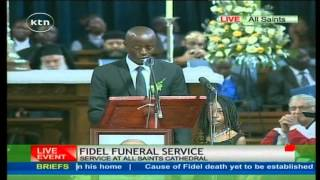 Raila Odinga Junior eulogizes his elder Brother Fidel Odinga