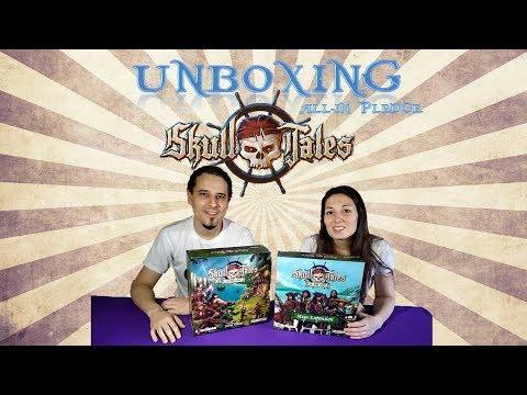 Skull Tales: ¡A Toda Vela! - Unboxing All In - Yo Tenía Un Juego De Mesa TV #38