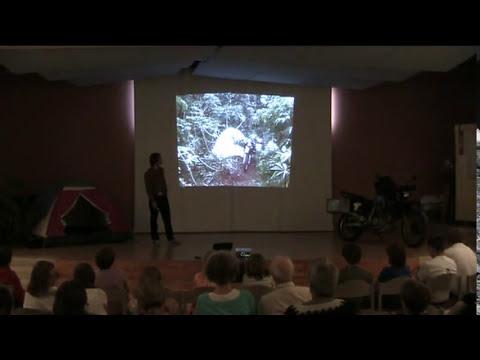 First slideshow riding a motorbike through Africa 4×4 adventure Video Blog