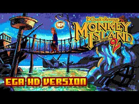 Monkey Island 2 - (16 Colors EGA High Resolution Version) - Gameplay
