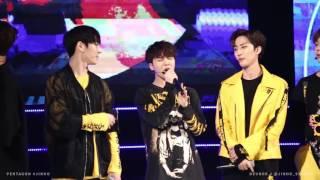 161014 KFM 수원 K-POP 콘서트 - Ribbon in the sky (진호 Cover)