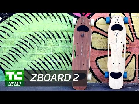 The ZBoard 2 is the only electric skateboard with no hand controller