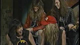 ACE FREHLEY INTERVIEW PT. 3 MTV'S STUDIOS WITH SKID ROW INTERVIEW 1988-89!