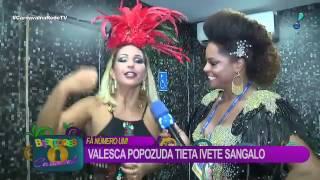 Valesca Popozuda sobre Ivete Sangalo  'Fazíamos nossos arrastões na Bahia'