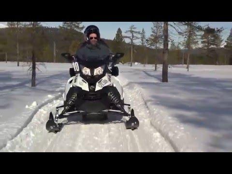 Snöskoter på Idre Fjäll 2016