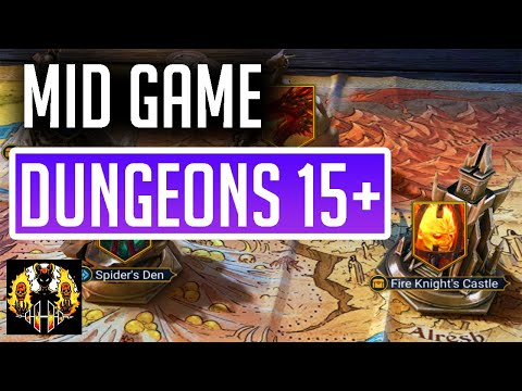 RAID: Shadow Legends | Lvl 17 Dungeons | Taking on Spider & Dragon | MID GAME ACCOUNT TAKEOVER!