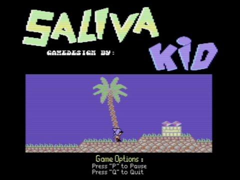 RETROJuegos Clásico - Saliva Kid - Commodore 64