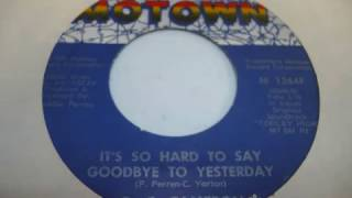 G  C  Cameron  -  It's So Hard To Say Goodbye To Yesterday